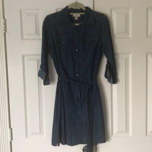 Blue Jean dress from Loft